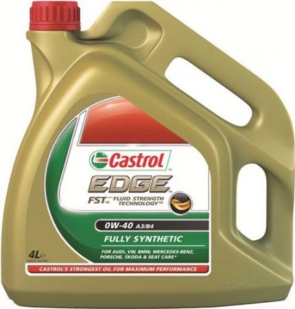 Масло CASTROL EDGE TITANIUM FST SAE 0W40 A3/B4 4 lt 4674650090