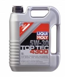 Моторное масло LIQUI MOLY Top Tec 4300, 5W-30, 5л, 8031