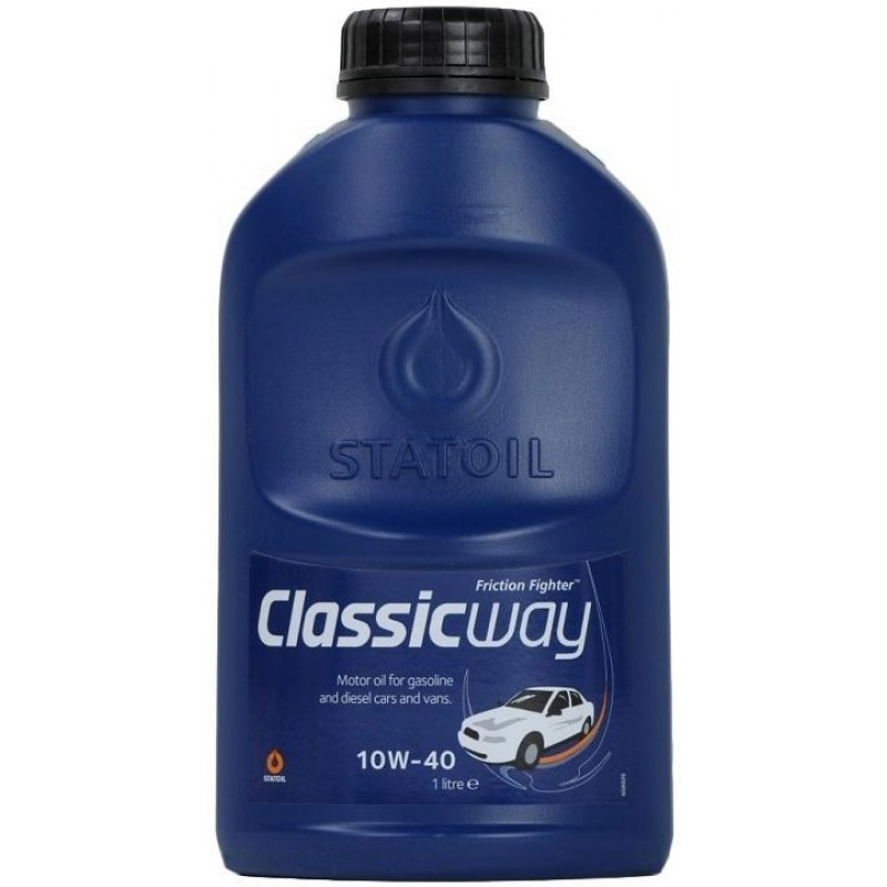 Моторное масло STATOIL CLASSICWAY, 10W-40, 1л, 1000238