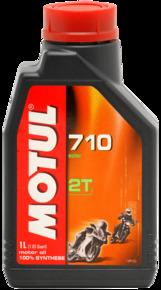 Моторное масло MOTUL 710 Ester 2T, 1л, 101448