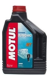 Моторное масло MOTUL OUTBOARD 2 T, 2л, 101732