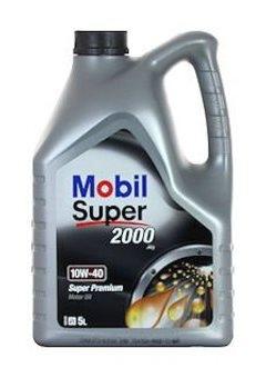 Моторное масло Mobil Super 2000 X1, 10W-40, 5л