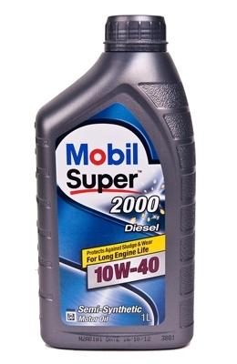 Моторное масло Mobil SUPER 2000 X1 Diesel, 10W-40, 1л