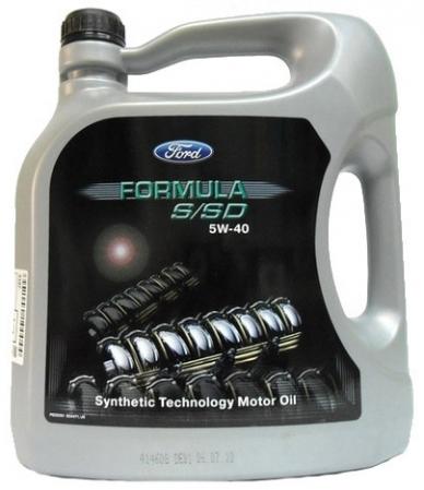 Масло FORD Formula S/SD 5/40 5л. 14E9D1