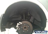 Подкрылок, RIVAL, для Toyota Camry 2015- задний правый