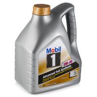 Моторное масло Mobil 1 FS 5W-30, синтетическое, 4л, 153750