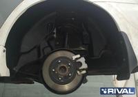 Подкрылок, RIVAL, для Toyota Camry 2015- задний левый