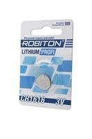 Элемент питания ROBITON PROFI R-CR1616-BL1 CR1616 BL1 13057, 13057