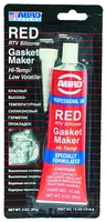Герметик прокладок красный, 85 г, ABRO, 11ABCHRS
