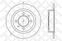 Диск тормозной передний, STELLOX, 60202246SX