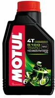 Моторное масло MOTUL 5100 ESTER 4T, 10W-40, 1л, 102777