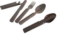 Набор столовых приборов Следопыт в металл. чехле (ложка, вилка, нож, открывашка), PFCWSP59