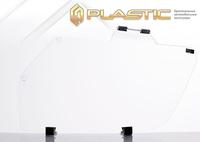 Защита фар для ВАЗ Lada Largus (2012), прозрачный, CA PLASTIC, 2010020207493