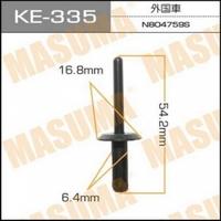 Клипса автомобильная (автокрепеж) MASUMA, KE335