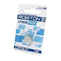 Элемент питания ROBITON PROFI R-CR1632-BL1 CR1632 BL1 13054, 13054