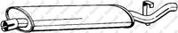 Глушитель, задняя часть, BOSAL, 148325