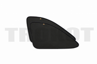 Солнцезащитный экран, комплект на задние форточки на Porsche, Cayenne 3 (2017-наст.время), TROKOT, T