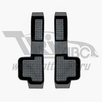 Коврики салона резиновые с бортиком для ВАЗ Приора 2170 )(2007-) боковые передние, ADRJET020