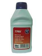 Тормозная жидкость TRW DOT 4, 0.5л, PFB450