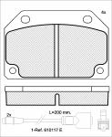 Колодки дисковые, ICER, 180246