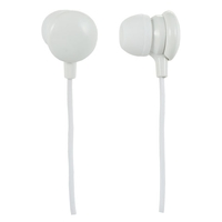 Наушники PERFEO CANDY PF-CAN-WHT белые BL1, PERFEO, 13091
