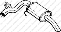 Глушитель, задняя часть, BOSAL, 247013
