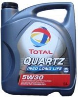 Моторное масло TOTAL QUARTZ INEO LONG LIFE, 5W-30, 5л, 181712