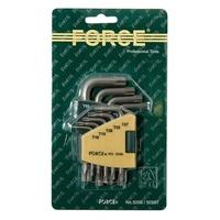 FORCE 5098 Набор ключей Г-образных TORX Т10-Т50 9пр
