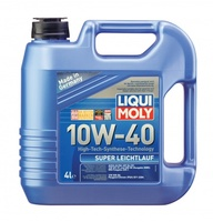 LiquiMoly 10W40 Super Leichtlauf (4L) масло мотор.!син.\API SL/CF,ACEA A3-04/B4-04:MB229.1,VW,Peug L