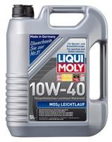 LiquiMoly 10W40 MoS2 Leichtlauf (5L) масло моторное !полусинт.\ API SL/CF,ACEA A3-04, B4-04 LIQUI MO