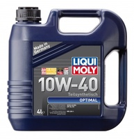 LiquiMoly 10W40 Optimal (4L) масло моторное !синт.\ API SL/CF, ACEA A3-04, B3-04: MB 229.1 LIQUI MOL