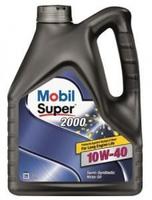 Моторное масло Mobil Super 2000 X1, 10W-40, 4л